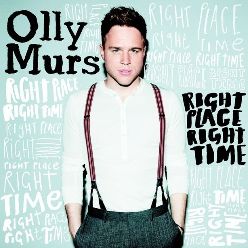 Olly - Right place right time cover